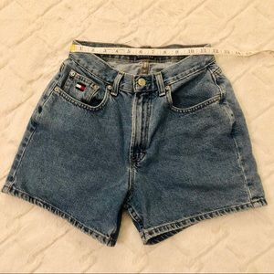 Tommy Hilfiger Vintage High-Waisted Jean Shorts